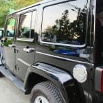 ウルトラストロングコート USC 施工例 Jeep ラングラー 黒 新車 画像3