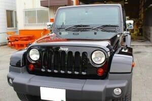ウルトラストロングコート USC 施工例 Jeep ラングラー 黒 新車 画像6