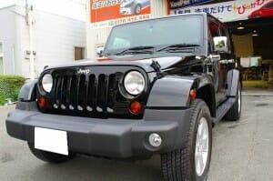 ウルトラストロングコート USC 施工例 Jeep ラングラー 黒 新車 画像1