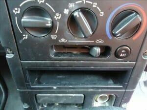 車の内装にカビ