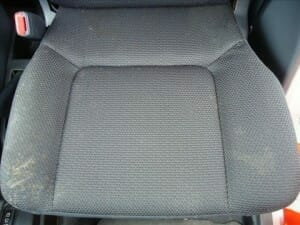 車のシートにカビ