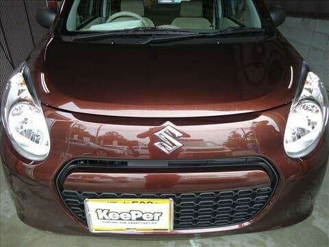 新車コーティング H23年式 スズキ アルト