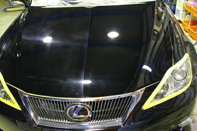 レクサスIS250C ウルトラストロングコート(車のボディガラスコーティング)施工例