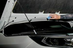車 ガラスコーティング USCプレミアム バックドア裏